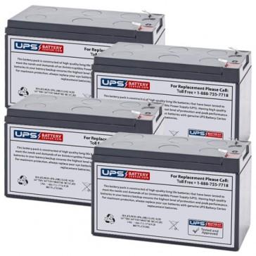 Sola S4KU 1000 Batteries