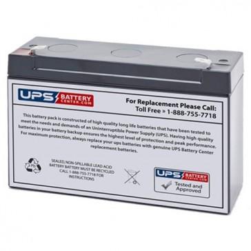 FengSheng FS6-12 6V 12Ah Battery