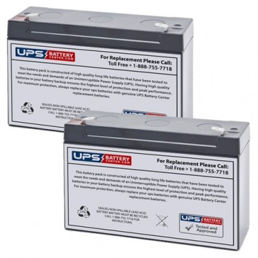 Datex-Ohmeda Modulus 2 Plus Batteries - Set of 2