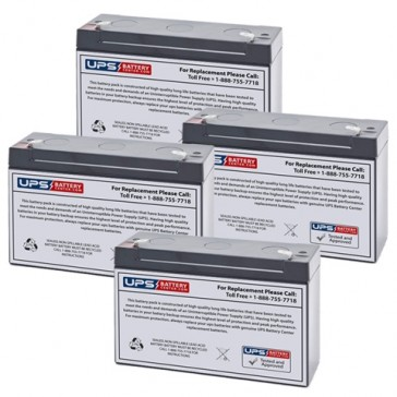 Emergi-Lite/Kaufel 6M6-G Batteries