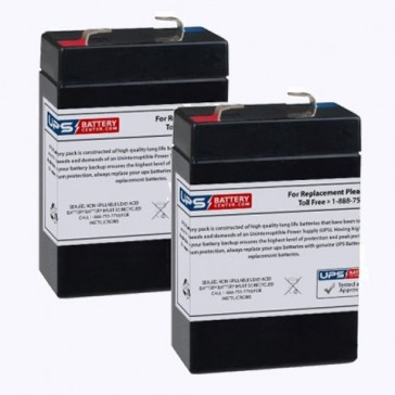 Hospitak TOTE-A-NEB 1500 Batteries - Set of 2