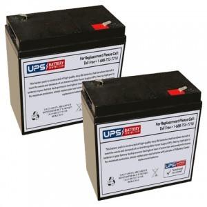 Emergi-Lite/Kaufel 12M5 Batteries