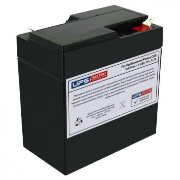 Blossom BT6-6A 6V 6Ah Battery