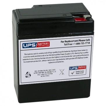MaxPower NP8-6S 6V 8Ah Battery