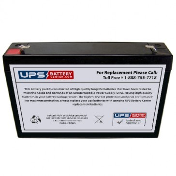 Crown CB-0859-0012 6V 8Ah Battery