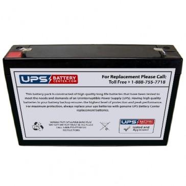 Plus Power PP6-8 F1 6V 8Ah Battery