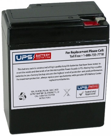 National NB6-8.5 6V 8.5Ah Battery