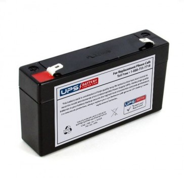 MaxPower NP1.2-6 6V 1.2Ah Battery