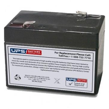 Motoma MS6V2.0 6V 2Ah Battery