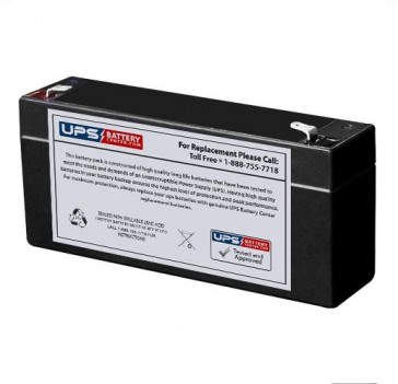 Philips M1504A, M1504B, M1505A ECG 6V 3Ah Medical Battery