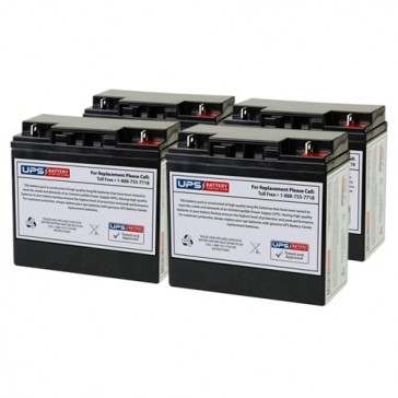 Alpha Technologies AS 1500 Compatible Replacement Battery Set