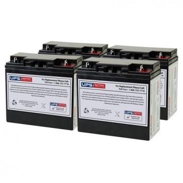 Alpha Technologies CFR 1500 Compatible Replacement Battery Set