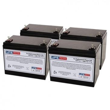 Alpha Technologies EBP 48 EC Compatible Replacement Battery Set