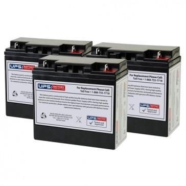 Alpha Technologies UPS 1000 Compatible Replacement Battery Set
