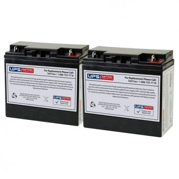 Alpha Technologies UPS 600 Compatible Replacement Battery Set