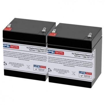 Altronix AL201UL 12V 4.5Ah Batteries