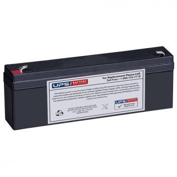 Baxter Healthcare FloGard 6201 Infusion Pump 12V 2.3Ah Medical Battery