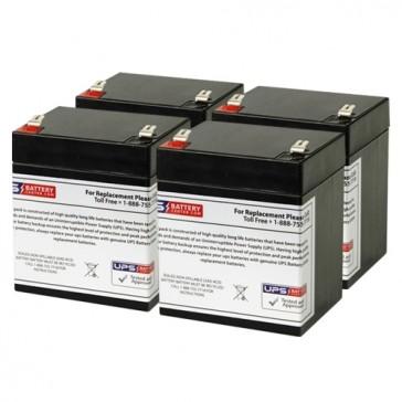 Belkin OMNIGUARD1500 Compatible Replacement Battery Set