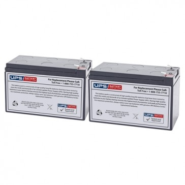 CyberPower CPS1250AVR Compatible Replacement Battery Set