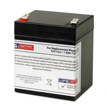 Energy Power 12V 4.5Ah EP-SLA12-4.5T2 Battery with F2 Terminals