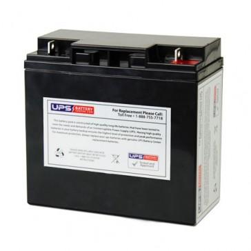FirstPower FP12180HR 12V 18Ah Battery with F3 - Nut & Bolt Terminals