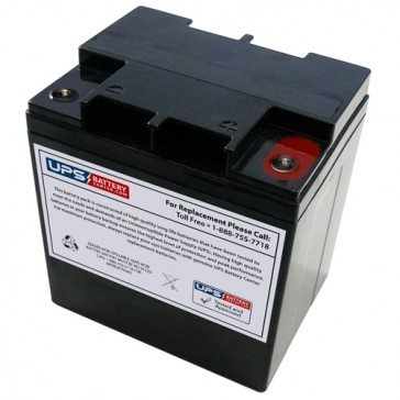 FirstPower FP12240A 12V 24Ah Battery with M5 Insert Terminals