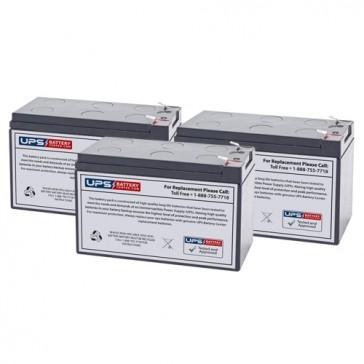 Liebert PS-1000RM Compatible Replacement Battery Set