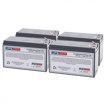 Liebert PS-1400RM Compatible Replacement Battery Set