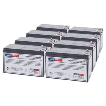 Liebert GXT2-9A72BATKIT Compatible Replacement Battery Set