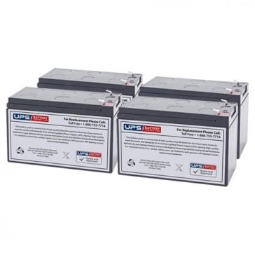 Liebert GXT2-2000RT-120 Compatible Replacement Battery Set