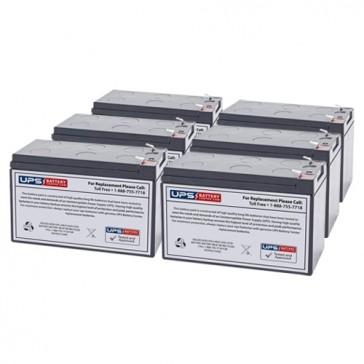 Liebert GXT2-3000RT-120 Compatible Replacement Battery Set