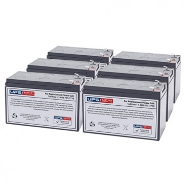 Liebert GXT-1000RTE-120 Compatible Replacement Battery Set
