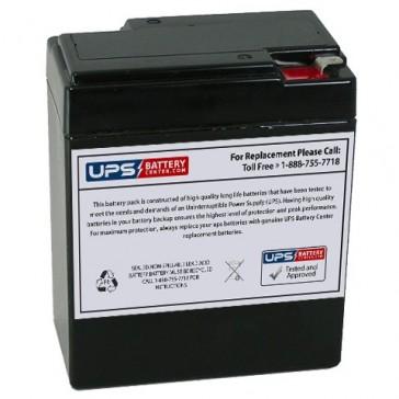 Magnavolt 6V 8.5Ah SLA6-8.5 Battery with F1 Terminals