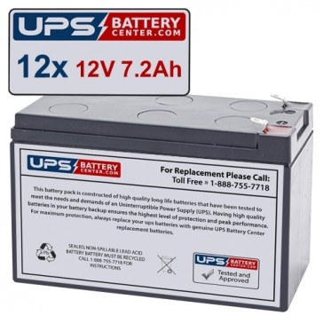 MGE EXRT 2200 EXB Compatible Replacement Battery Set