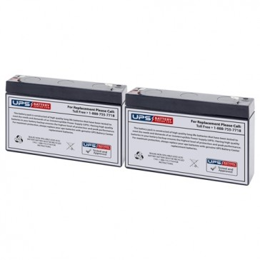 MGE Pulsar 500 Compatible Replacement Battery Set