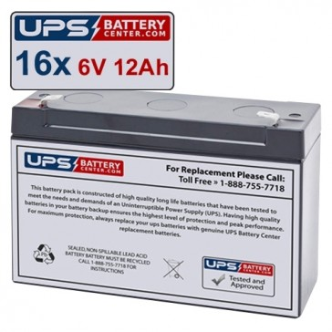 MGE Pulsar EB22 XLA Compatible Replacement Battery Set