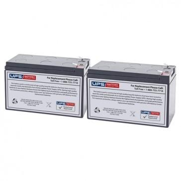 MGE Pulsar EL 7 Compatible Replacement Battery Set