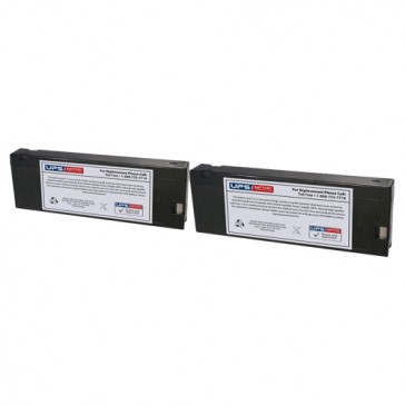 Philips M1204A-Viridia 24CT Medical Batteries - Set of 2