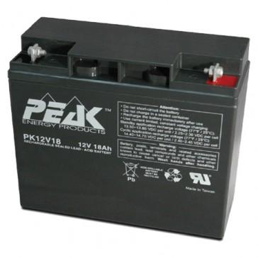 PK12V18B1 Peak Energy 12V 18Ah Battery
