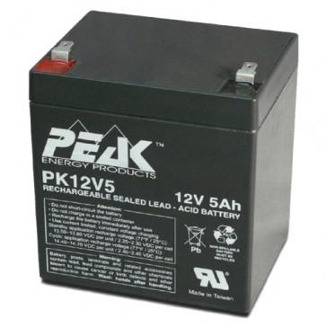 PK12V5F1 Peak Energy 12V 5Ah Battery