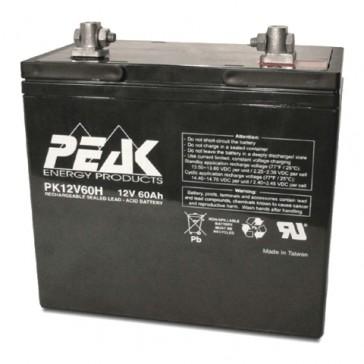 12V 60Ah Peak Energy PK12V60H Battery