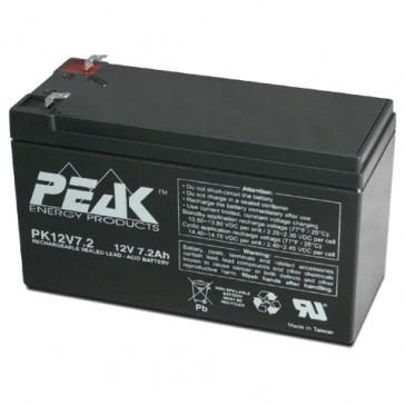 PK12V7.2F1 Peak Energy 12V 7.2Ah Battery