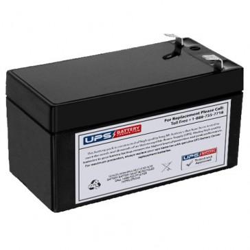 SigmasTek 12V 14Ah SP12-1.2 Battery with F1 Terminals