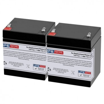 SL Waber PowerHouse 650 UPS 12V 4.5Ah Batteries