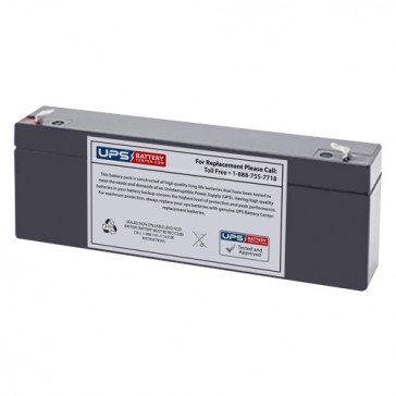 TLV1226F1 - 12V 2.6Ah Sealed Lead Acid Battery with F1 Terminals