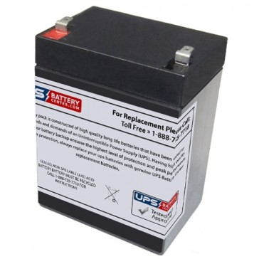 TLV1229L - 12V 2.9Ah Sealed Lead Acid Battery with F1 Terminals
