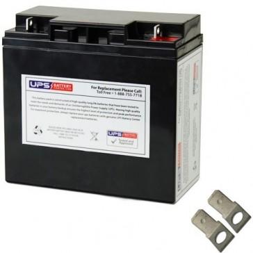 Werker 12V 18Ah WKA12-18F2 Battery with F2 Terminals