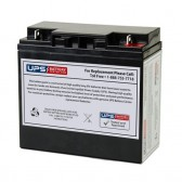 12V 20Ah Sealed Lead Acid Battery with Nut & Bolt F3 Terminals