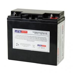 MUST FC12-17 12V 17Ah Battery