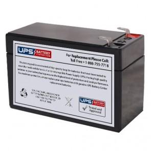 Q-Power QP12-1.3 12V 1.3Ah Battery